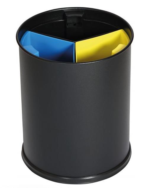 Papierkorb – schwarz